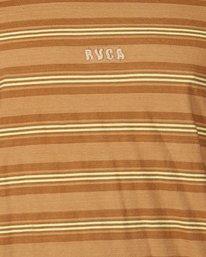 4 Warp Stripe Short Sleeve Tee  R107060 RVCA