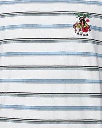 4 Aloha Stripe Short Sleeve Tee  R107061 RVCA