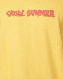 4 Cruel Summer Short Sleeve Tee  R107064 RVCA