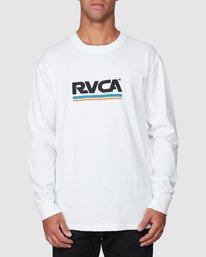 1 Attacker Long Sleeve Tee  R107093 RVCA