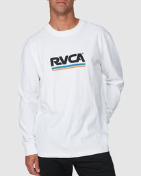 0 Attacker Long Sleeve Tee  R107093 RVCA