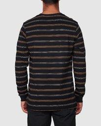 3 Merc Stripe Long Sleeve Tee  R107095 RVCA