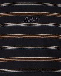 4 Merc Stripe Long Sleeve Tee  R107095 RVCA