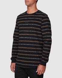 2 Merc Stripe Long Sleeve Tee  R107095 RVCA