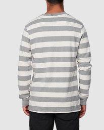 3 Shallow End Stripe Long Sleeve Tee  R107096 RVCA