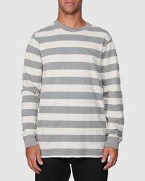 1 Shallow End Stripe Long Sleeve Tee  R107096 RVCA