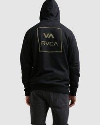 2 RVCA ALL THE WAYS HOODIE Black R107152 RVCA