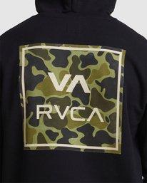 3 VA All The Ways Multi HOODIE Camo R107153 RVCA