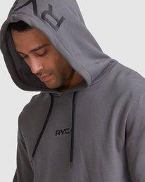 3 Shi Boo Ya Pullover Grey R107156 RVCA