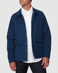 0 RVCA Cairo Jacket Blue R107437 RVCA