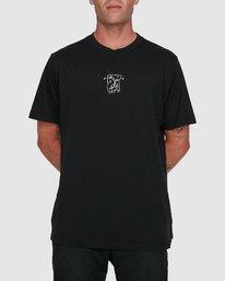 0 Dudes Short Sleeve Tee Black R108049 RVCA