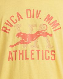 3 Athletic Short Sleeve Tee White R115044 RVCA