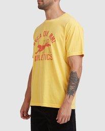 1 Athletic Short Sleeve Tee White R115044 RVCA