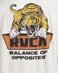 3 Exotic Short Sleeve Tee Beige R115052 RVCA