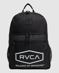 1 Rvca Hex Backpack Black R115451 RVCA
