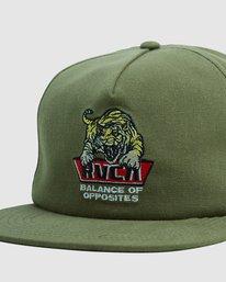 4 Exotic Snapback cap Green R115561 RVCA