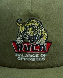 5 Exotic Snapback cap Green R115561 RVCA