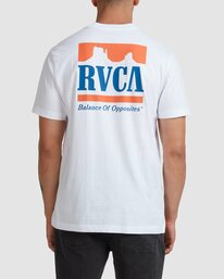 0 PACKETS SHORT SLEEVE TEE White R117057 RVCA