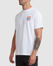 1 PACKETS SHORT SLEEVE TEE White R117057 RVCA