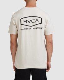 0 Worker Short Sleeve Tee Beige R117059 RVCA