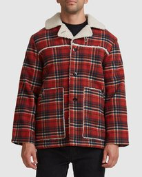 0 OLD COUNTRY JACKET Orange R117433 RVCA