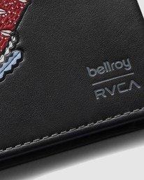 3 Bellroy X RVCA Slim Sleeve Black R117602 RVCA