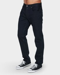 0 Daggers Denim Pants Blue R153232 RVCA