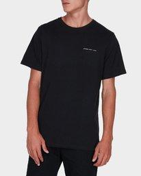 0 Byron Address T-Shirt Black R172131 RVCA