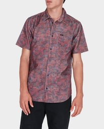 0 Marbles Floral Cord Short Sleeve  R172189 RVCA