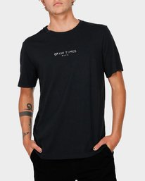 0 Grim Times T-Shirt  R182059 RVCA
