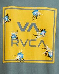 3 VA ALL THE WAYS MULTI TEE Green R182062 RVCA