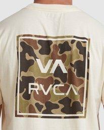 3 VA ALL THE WAYS MULTI TEE White R182062 RVCA