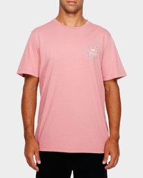 0 VA ALL THE WAYS MULTI TEE Pink R182062 RVCA