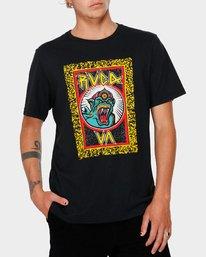 0 RVCA Monster T-Shirt  R182070 RVCA