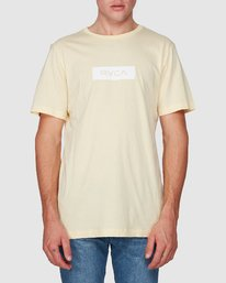 0 RVCA Box Short Sleeve T-Shirt  R182073 RVCA