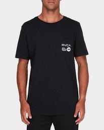 0 Anp Pocket T-Shirt Black R183056 RVCA