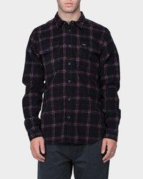 0 Tacked Long Sleeve Shirt  R183181 RVCA