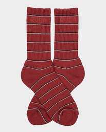 0 RVCA Stripes Sock  R183605 RVCA