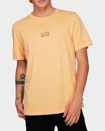 0 Focus 2.0 T-Shirt Orange R191048 RVCA