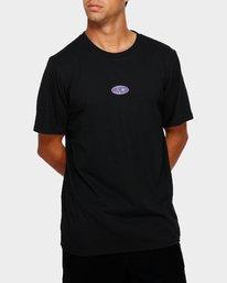 0 RVCA Oval T-Shirt  R191050 RVCA
