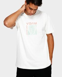 0 Mind Control T-Shirt White R191051 RVCA