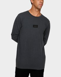 0 Focus 2.0 Long Sleeve T-Shirt Black R191091 RVCA