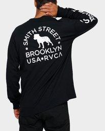 0 Smith Street Wicks Long Sleeve T-Shirt  R191094 RVCA