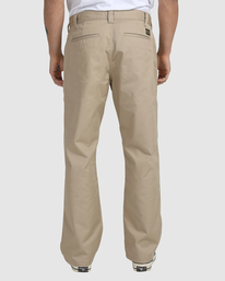 2 Recession | Americana Relaxed Fit Chino Pants Green R191271 RVCA
