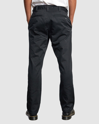 2 Recession | Americana Relaxed Fit Chino Pants Black R191271 RVCA