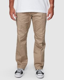 2 Recession | Americana Relaxed Fit Chino Pants Beige R191271 RVCA