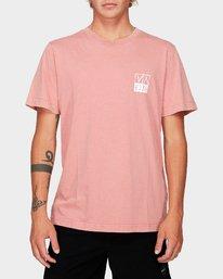 0 RVCA Unplugged Short Sleeve T-Shirt  R192041 RVCA