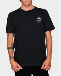 0 Down The Line Short Sleeve T-Shirt  R192043 RVCA