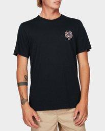 0 Night Luker Short Sleeve T-Shirt  R192050 RVCA