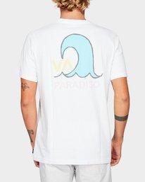 0 Paradiso Short Sleeve T-Shirt  R192057 RVCA